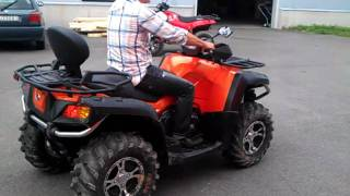 9. CF-Moto X8 v-twin 800cc :)