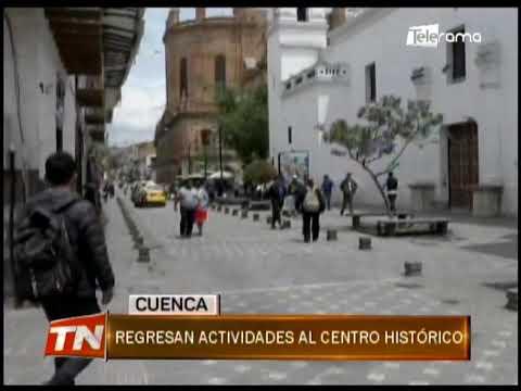 Regresan actividades al centro histórico