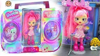 Let's go to the rock show to see the newest Shoppies doll! It's the Shopkins Shoppies Bubble Gum Pop Bubbleisha 2017 SDCC Exclusive Comic Con Doll! Also check out Exclusive Despicable Me 3 Mineez Balthazar Bratt Figure Set too! Thank you Moose Toys for sharing these sets with me! ❤️FREE Subscription Never miss a video!  Click here : http://bit.ly/1RYkDF6Watch More Cookie Swirl C  Toy Videos from Playlist:❤️ Limited Edition  Shopkins Happy Places Petkins Surprise Blind Bags with Shoppies Doll Gemma Stone https://youtu.be/0KP2M_bQRuo❤️ Season 8 Shopkins Shoppies Doll World Vacation British Tea Party with Jessicake + Tippy  https://youtu.be/B4VtEgjgsIU❤️ Shoppies Order Happy Meals In McDonalds Drive Thru - Beanie Boo's Toys  https://youtu.be/8qwN370D8NE❤️ Season 8 World Vacation Shopkins Shoppies dolls Spaghetti Sue + Macy Macaron + Surprise Blind Bags https://youtu.be/eynGKeUTCz0❤️ Shoppies Lippy Lulu's Beauty Boutique with Lipstick Makeup Shopkins + Surprise Blind Bags https://youtu.be/bsqSf1JWeSc❤️ Limited Edition Shopkins Shoppies Gold Jessicake SDCC 2016 Golden Doll with Exclusives https://youtu.be/0hq9uOnobSk◕‿◕Who Is Cookieswirlc - a unique channel bursting with fun, positive, happy energy featuring popular videos on Disney Frozen, Princesses, Littlest Pet Shop LPS, Shopkins, mermaids, My Little Pony MLP, LOL Surprise baby dolls, Lego, Barbie dolls, Play Doh, and much muchy more!!! Everything form stories, series, movies, playset toy reviews, hauls, mystery surprise blind bag openings, and DIY do it yourself fun crafts!www.cookieswirlc.com◕‿◕You rock cookie fans! I'll see you in my next video! - Cookie Swirl C
