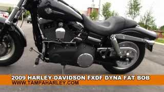 8. Used 2009 Harley Davidson FXDF Dyna Fat Bob For Sale Price Review Specs