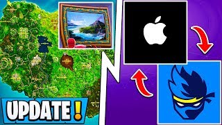 "*NEW* Fortnite Update! | Apple x Ninja Event, S9 Full New Map, ""Beginner"" Mode!"