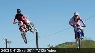 5. 2003 Honda CR125 vs. 2011 Yamaha YZ125 - MotoUSA