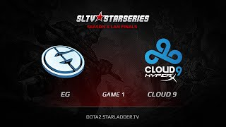 Cloud9 vs Evil Genuises, game 1