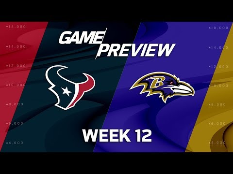 Video: Houston Texans vs. Baltimore Ravens | NFL Week 12 Game Preview