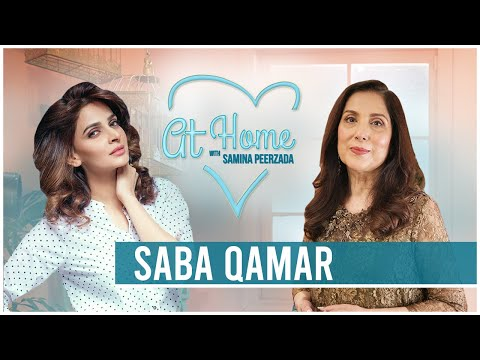 Saba Qamar | The Inside Stories | What is Love For Her | #RewindatHome with Samina Peerzada