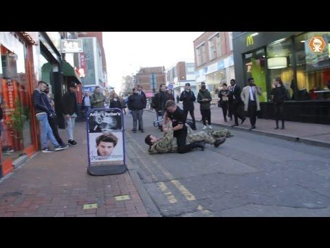 POLICE OFFICER VS BRITISH SOLDIER | TROLLSTATION PRANK @TrollstationYT