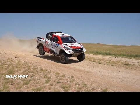 Silk Way Rally: Ανταγωνισμός και προβλήματα για τους οδηγούς