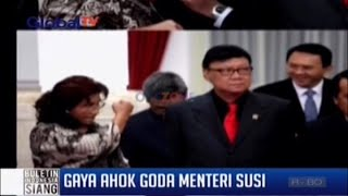 Video Gaya Ahok Goda Menteri Susi MP3, 3GP, MP4, WEBM, AVI, FLV Februari 2018