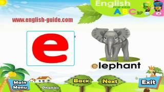 تعليم الاطفال الانجليزية - النطق السليم - Phonics