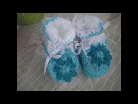 escarpines en crochet - Videos Videos relacionados con escarpines en ...