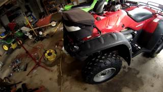 4. 2006 honda rancher es 350 review and stock exhaust sound