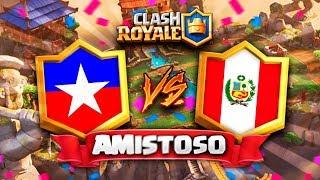 CHILE vs PERU // Clash Royale Amistoso en DIRECTO - Preparacion CR Worlds 2 Hoy nos encontramos con un clasico sudamericano ! Peru y Chile prueba ...