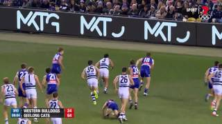 Geelong West Australia  city images : Round 13 AFL - Western Bulldogs v Geelong Highlights