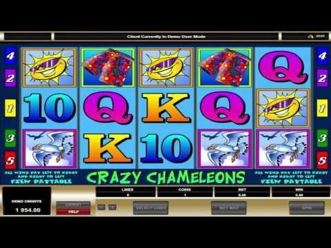 Crazy Chameleons ™ free slots machine game preview by Slotozilla.com