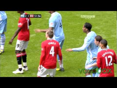 Manchester City 2 - 3 Manchester Utd | Community Shield All goals | August 7th 2011