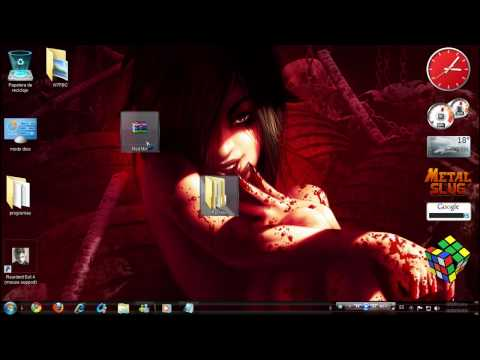 Como cambiar el puntero del mouse (windows 7) Zi Sirve