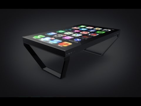 Table Connect   60 Multi Touch Table for the iPhone