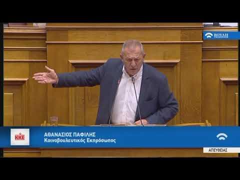 Αθ.Παφίλης(Κοινοβουλ.Εκπρ.ΚΚΕ)(Προϋπολογισμός 2019)(17/12/2018)