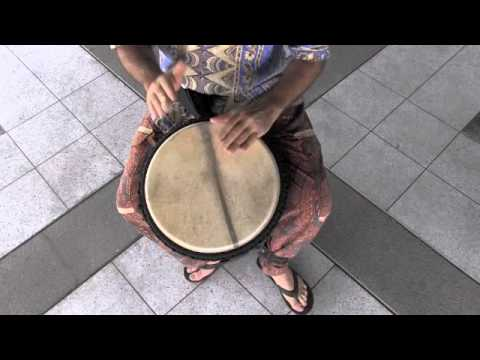 X8 Drums Djembe Lessons: Yankadi Rhythm on Djembe