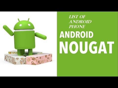 , title : 'Android 7.0 Nougat update [ list of devices ]'
