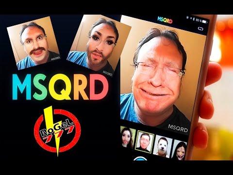 No tengo el Face Swap Live, pero tengo el MSQRD de ANDROID !