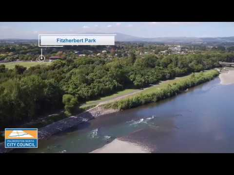 YouTube placeholder image shows park from the river.