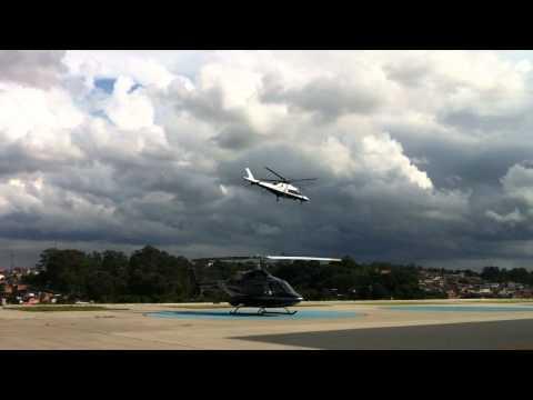 HeliPark Agusta 109P e Agusta 109C