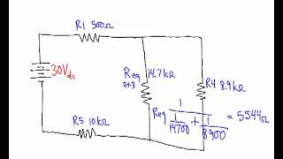 solving series parallel circuits