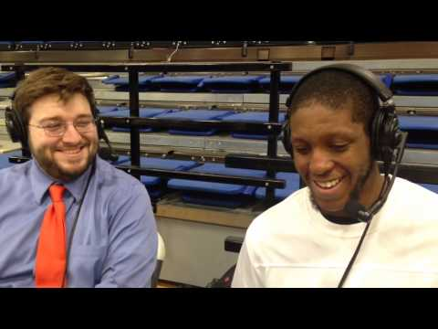 Carson-Newman Basketball: Antoine Davis Post Brevard 2-17-14