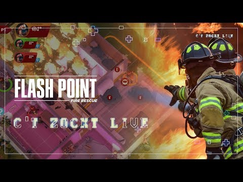 c't zockt LIVE: Flash Point Fire Rescue