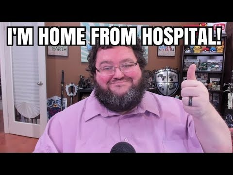 I'm Home Safe From Surgery!