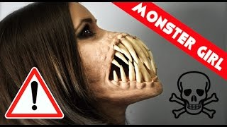 Video MONSTER girl!!! Special Effects Makeup MP3, 3GP, MP4, WEBM, AVI, FLV Februari 2018