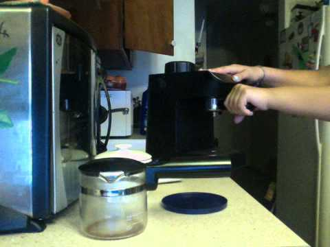 How to make a coffee with KRUPS coffee maker