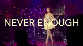 Video Never Enough - Jona Live at Club Seven Dubai MP3, 3GP, MP4, WEBM, AVI, FLV Juni 2018