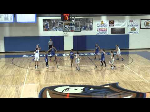 Women's Basketball Highlights vs. Albertus Magnus