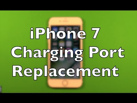 iPhone 7 Charging Port Lightning Replacement Repair How To Change