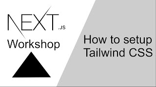 How to setup Tailwind CSS in Next.js