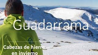 Sierra de Guadarrama Spain  city photos : Sierra de Guadarrama. El Cabezas de hierro en invierno
