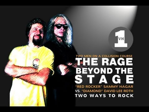 The Rage Beyond the Stage, Roth vs Hagar
