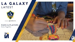 Help us color in the future! Watch as a few players color the LA Galaxy coloring book with a group of kids. Want to see more from the LA Galaxy? Subscribe to ...