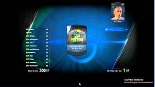Fifa online 3 Mở thẻ WC 06, fifa online 3, fo3, video fifa online 3
