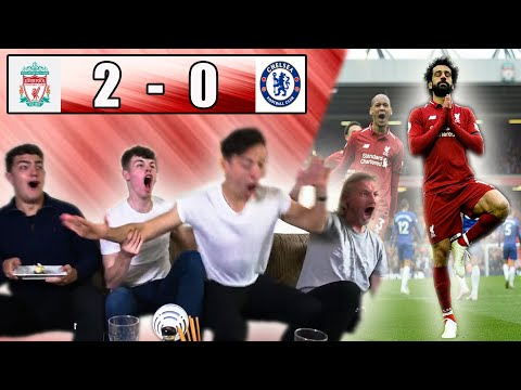 LIVERPOOL 2-0 CHELSEA FAN REACTION