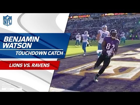 Video: Flacco Hits Wallace for Huge Gain to Set Up Watson's TD Grab! | Lions vs. Ravens | NFL Wk 13