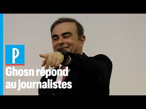 La séance de questions-réponses de Carlos Ghosn face à la presse internationale