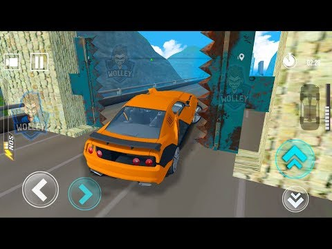 Сrazy Сars Race #2 - Impossible Track Speed Cars Bump Driving Games 8 to 13 (speed bump car drive)