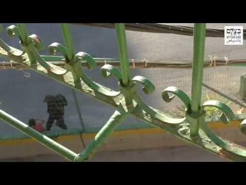 Policía israelí le quita a niña palestina su bicicleta y la arroja