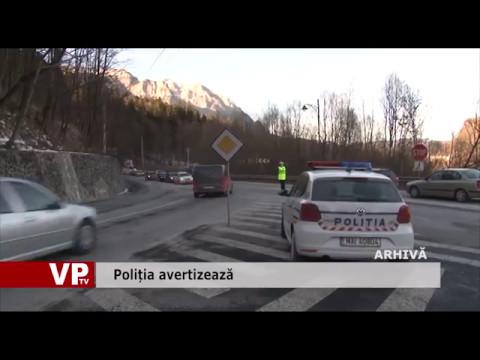 Poliția avertizează