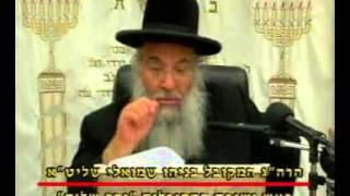 """המקובל הרב בניהו שמואלי – פרשת בא על פי הזוהר (ה'תשס""""ט)"""