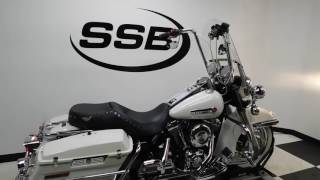5. 2001 Harley-Davidson FLHR Road King Police - used motorcycle for sale - Eden Prairie, MN