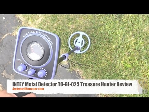 INTEY Metal Detector TO-GJ-025 Treasure Hunter Review
